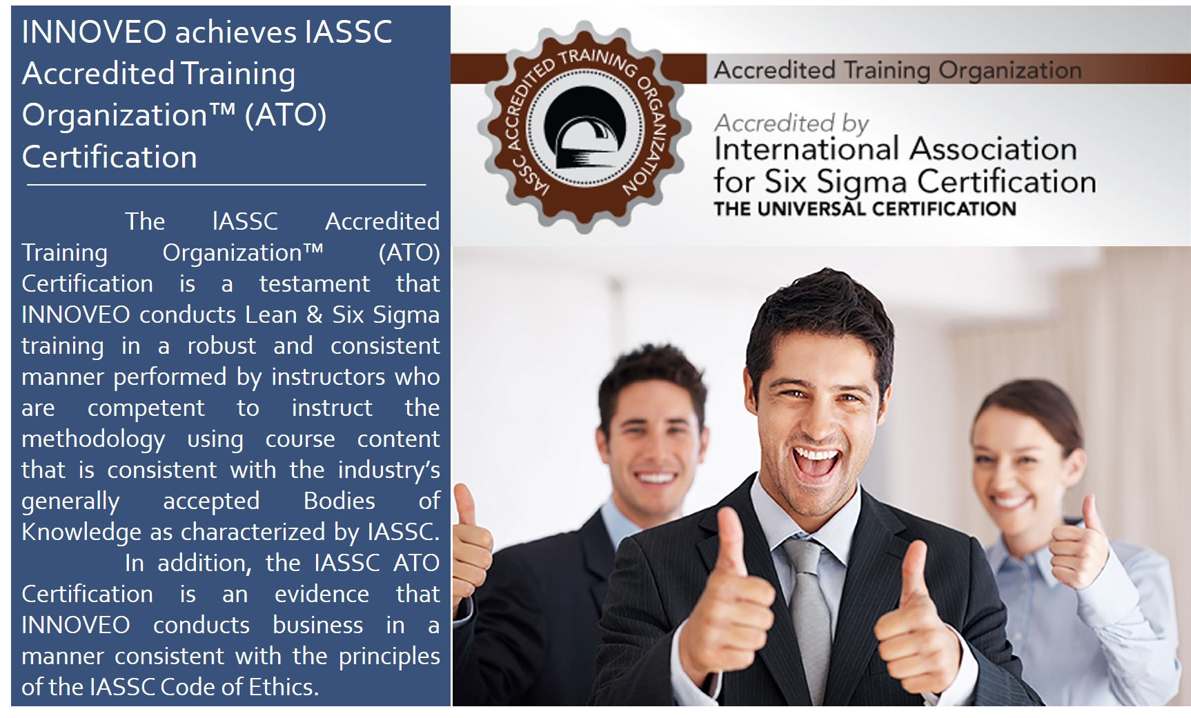 Innoveo is iassc accredited training organization ato innoveo innoveo is iassc accredited training organization ato innoveo lean six sigma philippines training certification consulting 1betcityfo Choice Image